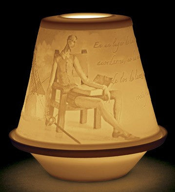 LITHOPHANE VOTIVE LIGHT-QUIXOTE 1017370