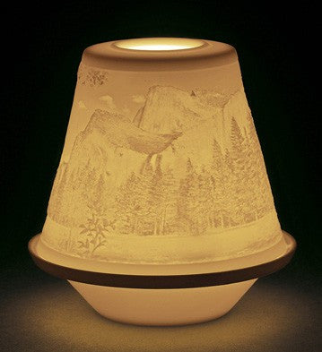 LITHOPHANE VOTIVE LIGHT-THE GREAT WILD 1017372