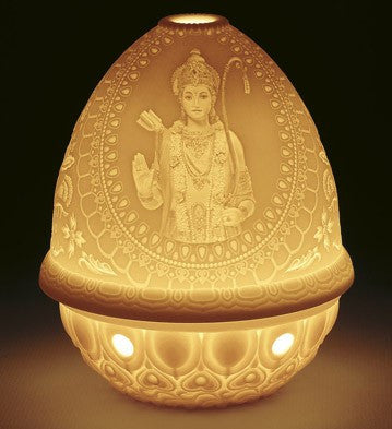 LITHOPHANE VOTIVE LIGHT-LORD RAMA 1017373