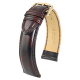 Ascot Leather Watch Strap