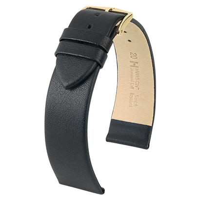 Diamond Calf Scratch Resistant Leather Watch Strap
