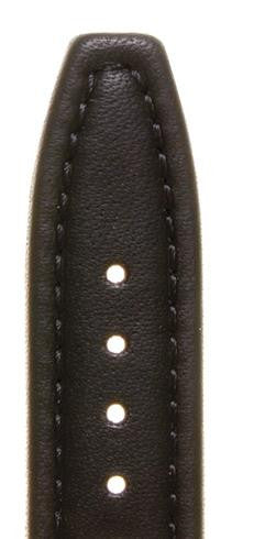 Anti-Allergy Padded Calf Leather Watch Strap LS1357