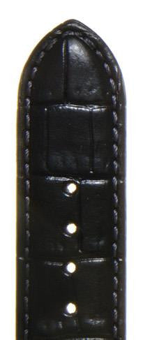 Louisiana Croc Grain Leather Watch Strap LS1382