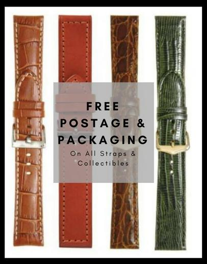 Free postage and packaging on all items at Hot Watches