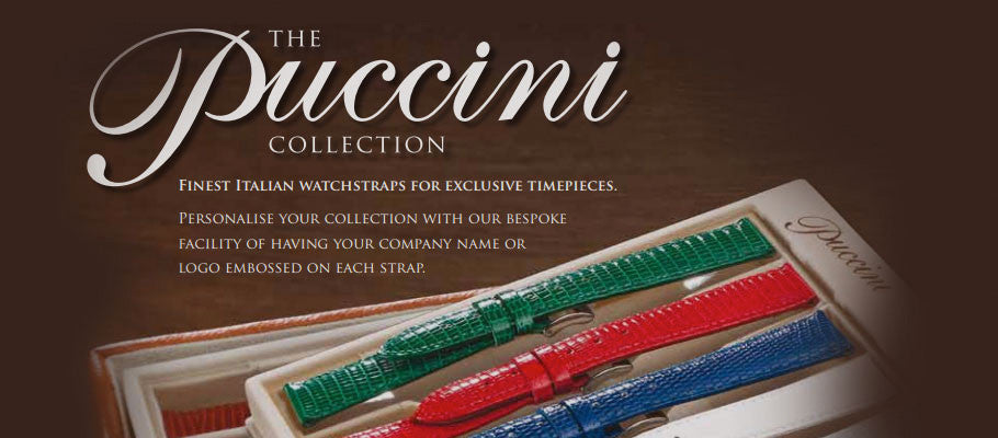 Puccini Watch Straps Banner