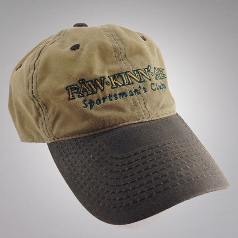 Waterproof hunting fishing cap - waxed canvas, Fawkinnae