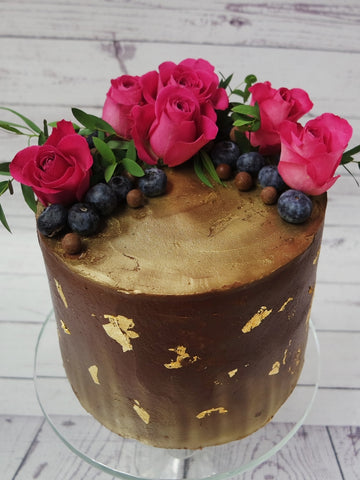 Chocolate Ganache Wedding Cake