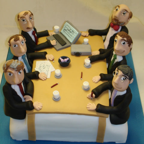 Corporate Cake 3D Board Room Table
