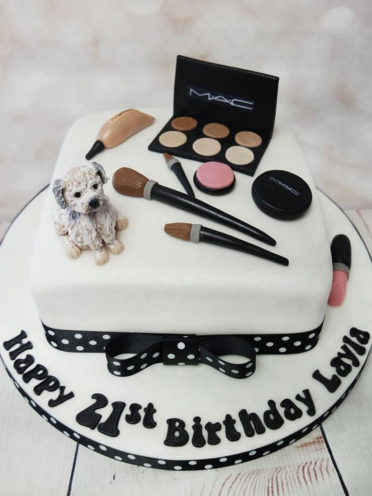 Make Up Cake With Dog