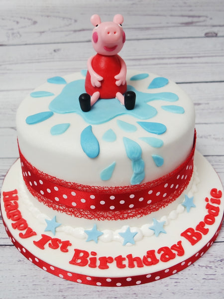 Crafty Cakes | Exeter | UK - Peppa Pig Model Cake