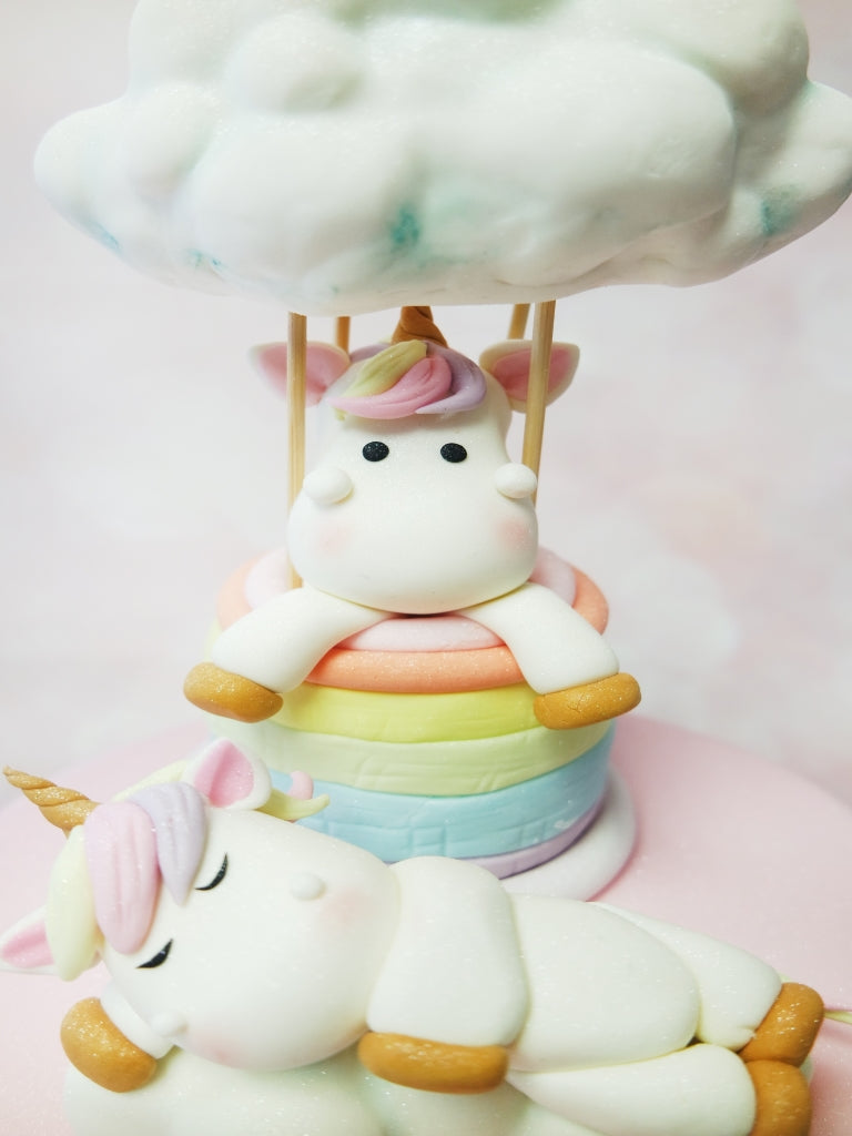 Unicorn Cloud Rainbow Cake
