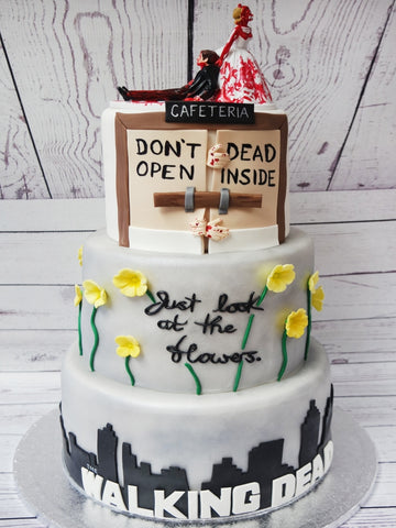 Walking Dead Wedding Cake