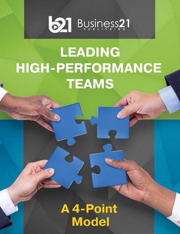 A 4-Point Model for Leading High-Performance Teams
