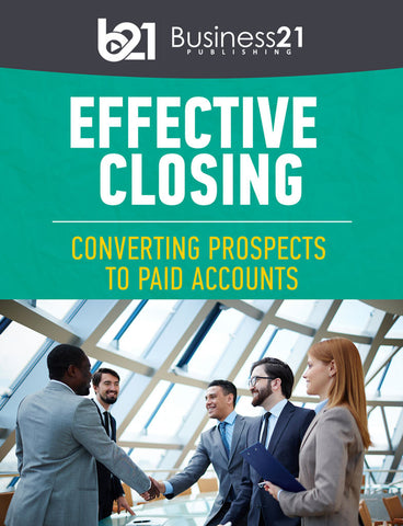 Effective Closing: Converting Prospects to Paid Accounts