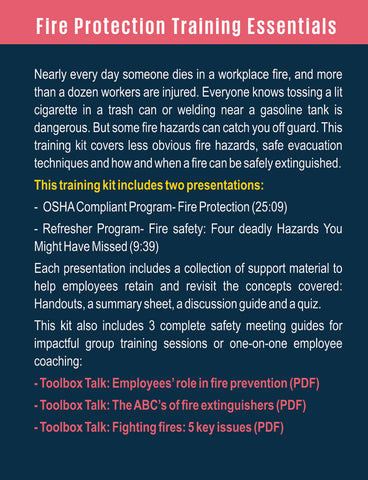 Fire Protection Training Essentials