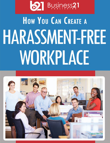 How You Can Help Create a Harassment-Free Workplace