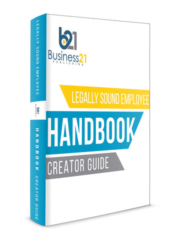 Customizable Policy Manual and Employee Handbook Creator