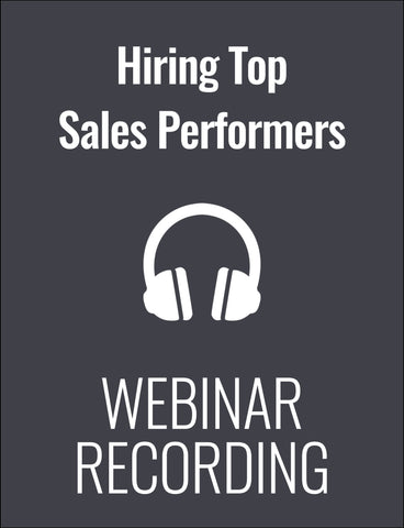 Proven Strategies for Hiring Top Sales Performers