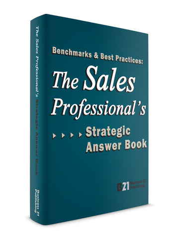 The Sales Professional's Strategic Answer Book