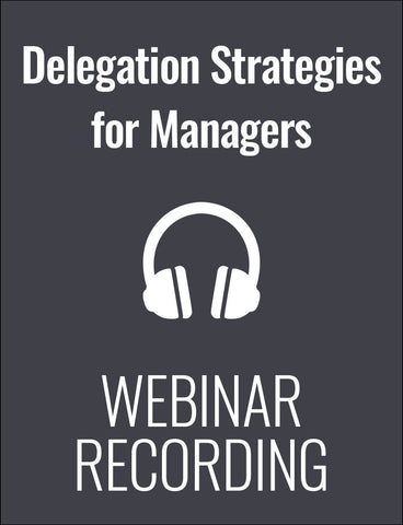Delegation: What Every Manager Should Know - But Most Don't