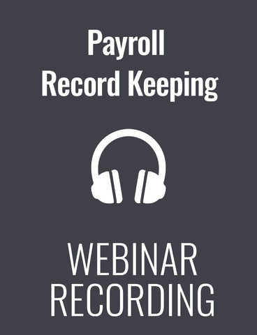 Critical Payroll Record Keeping: What to Keep and How to Keep it