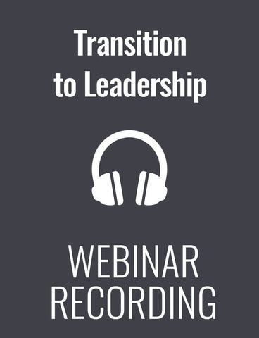 The Management Transformation: How to Support and Empower New Leaders