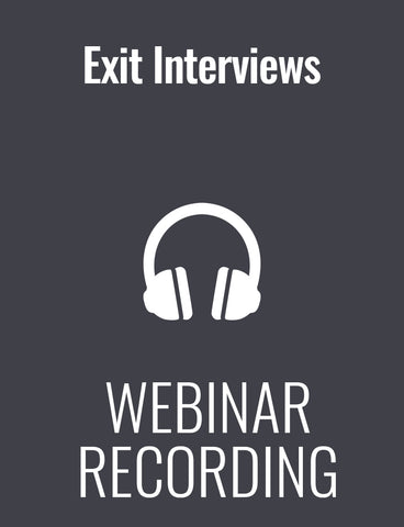 Exit Interviews: A Powerful Tool to Prevent Talent Flight … But Only if You Do Them Right