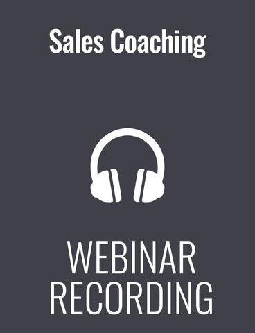 Sales Coaching: When They're Doing 'All the Right Things' and Still Not Hitting Quota