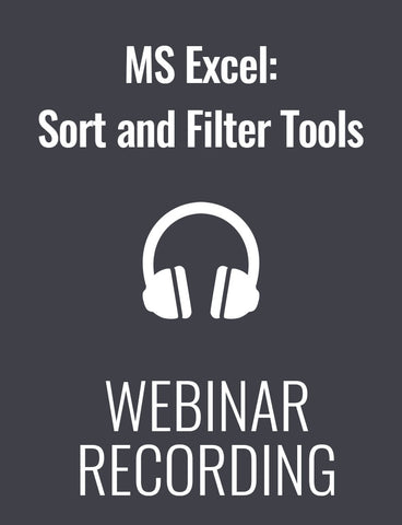 MS Excel: Demystifying the Sort and Filter Tools