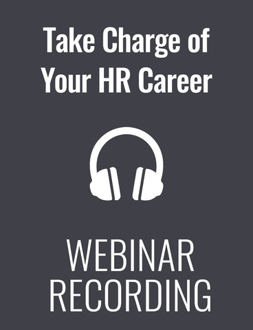 Take Charge of Your HR Career