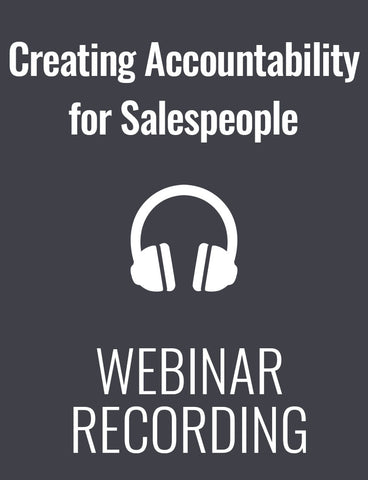 Creating Accountability for Salespeople: How to Coach Your Team to Success