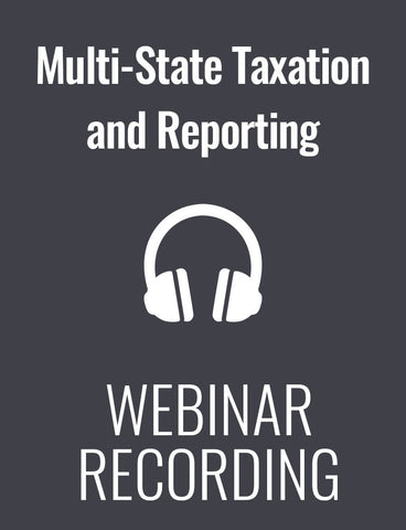 Multi-State Taxation and Reporting: The Latest Compliance Challenges for Payroll
