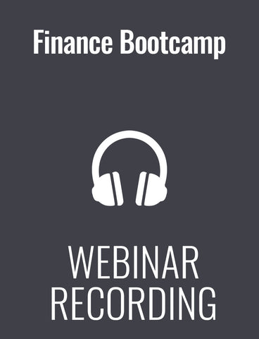 Finance Bootcamp for Non-Financial Managers