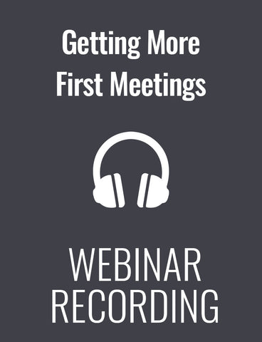 Getting More First Meetings: Voicemail and Email Strategies that Cut through the Clutter