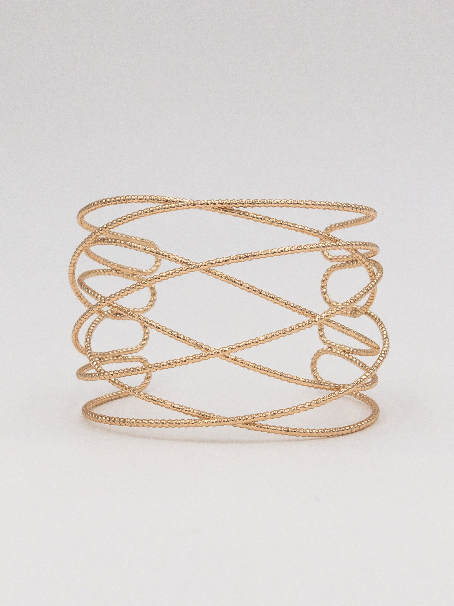 Adelaide Gold Cuff Bracelet