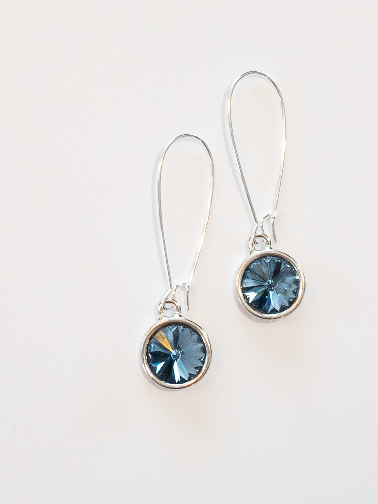 Bella Earrings in Denim