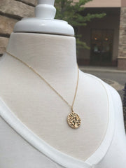 Natalia Short Tree of Life Necklace