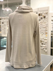 Cheryl Cream Cowl Neck Sweater