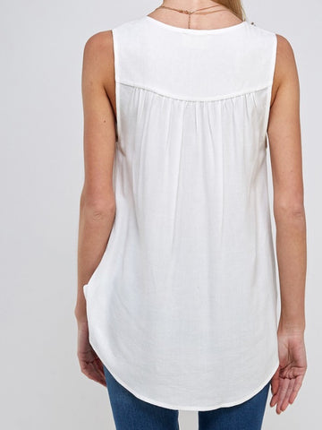 Olyvia Top in Ivory