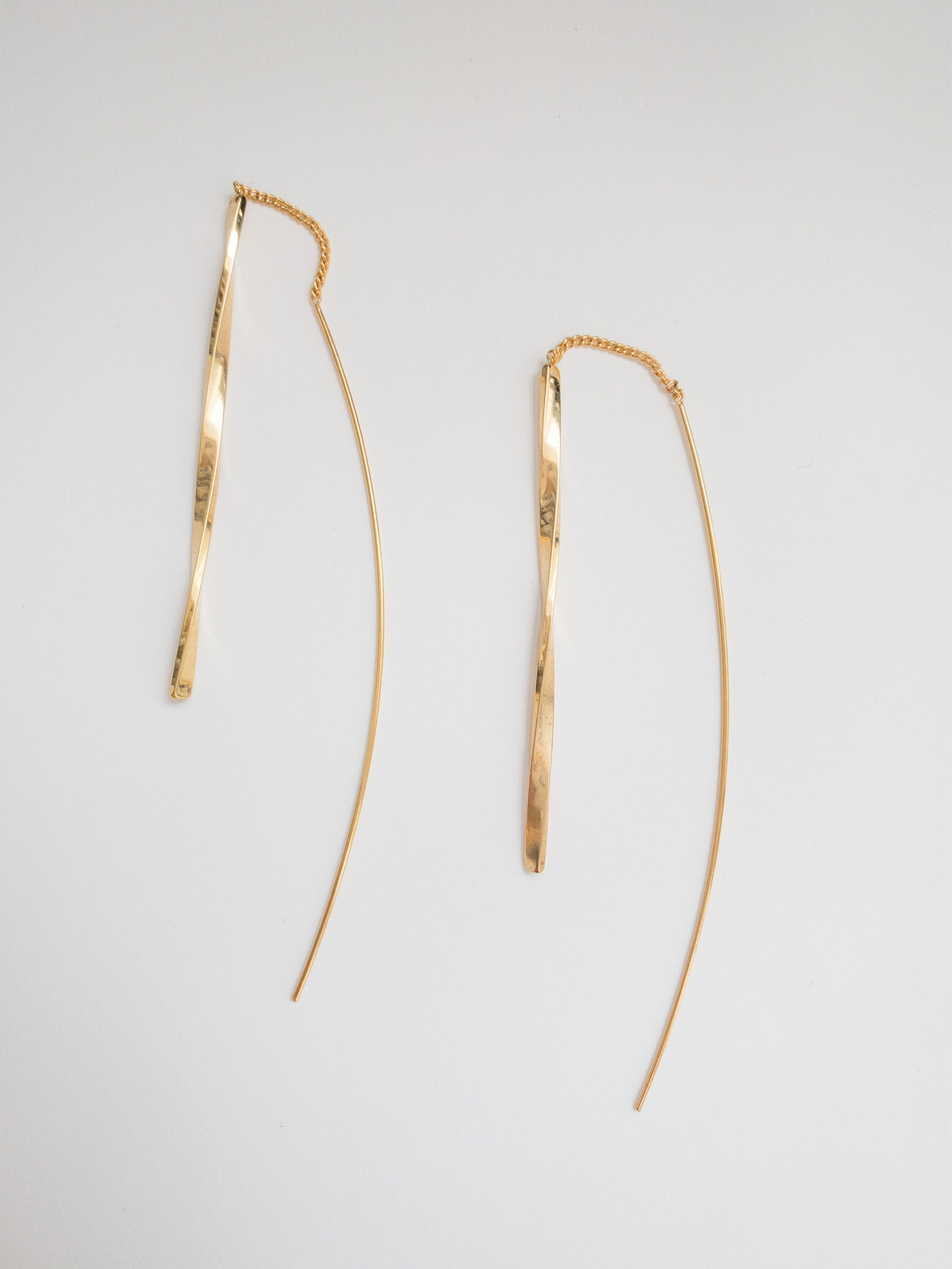 Raegan Gold Threader Earrings