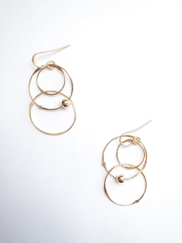 Allison Earrings- Gold Filled