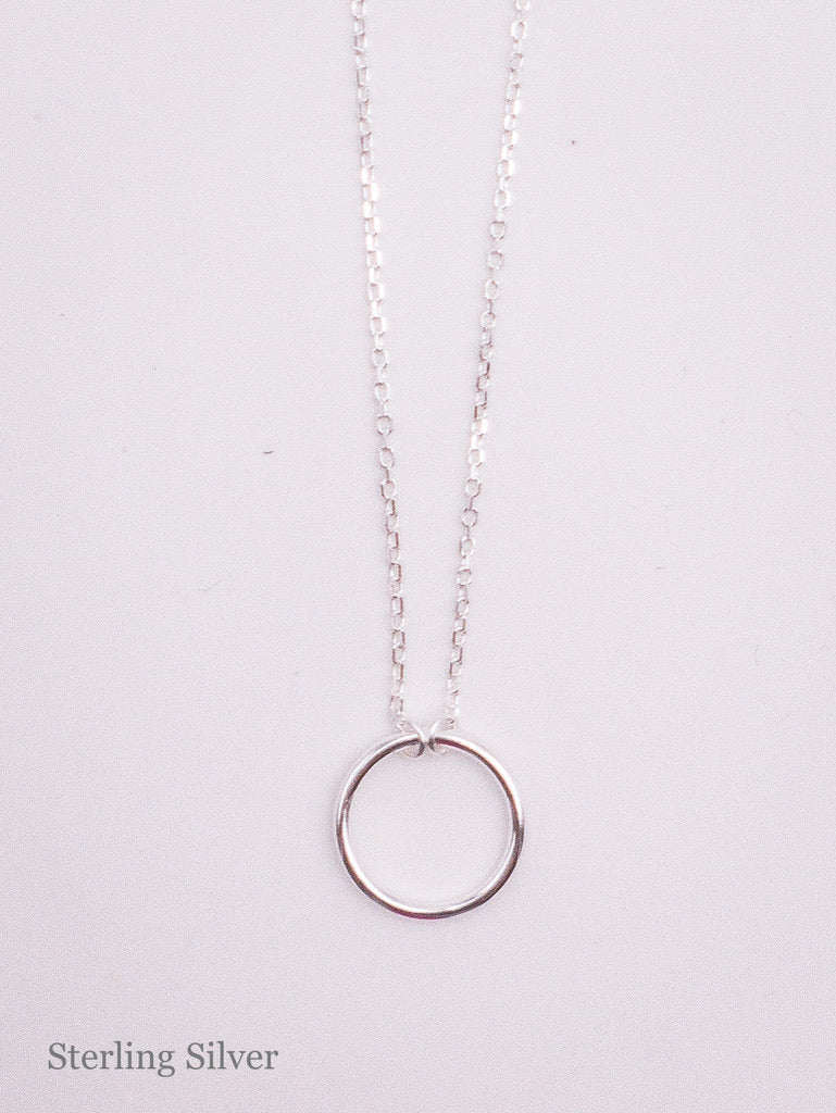 Silvia Silver Sterling Necklace