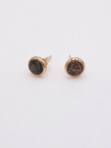 Dune Alexandra Stud Earrings - Gold