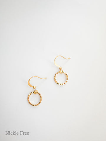 Jasmine Gold Earrings