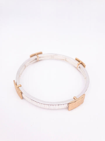 Marcy Mixed Metal Bracelet