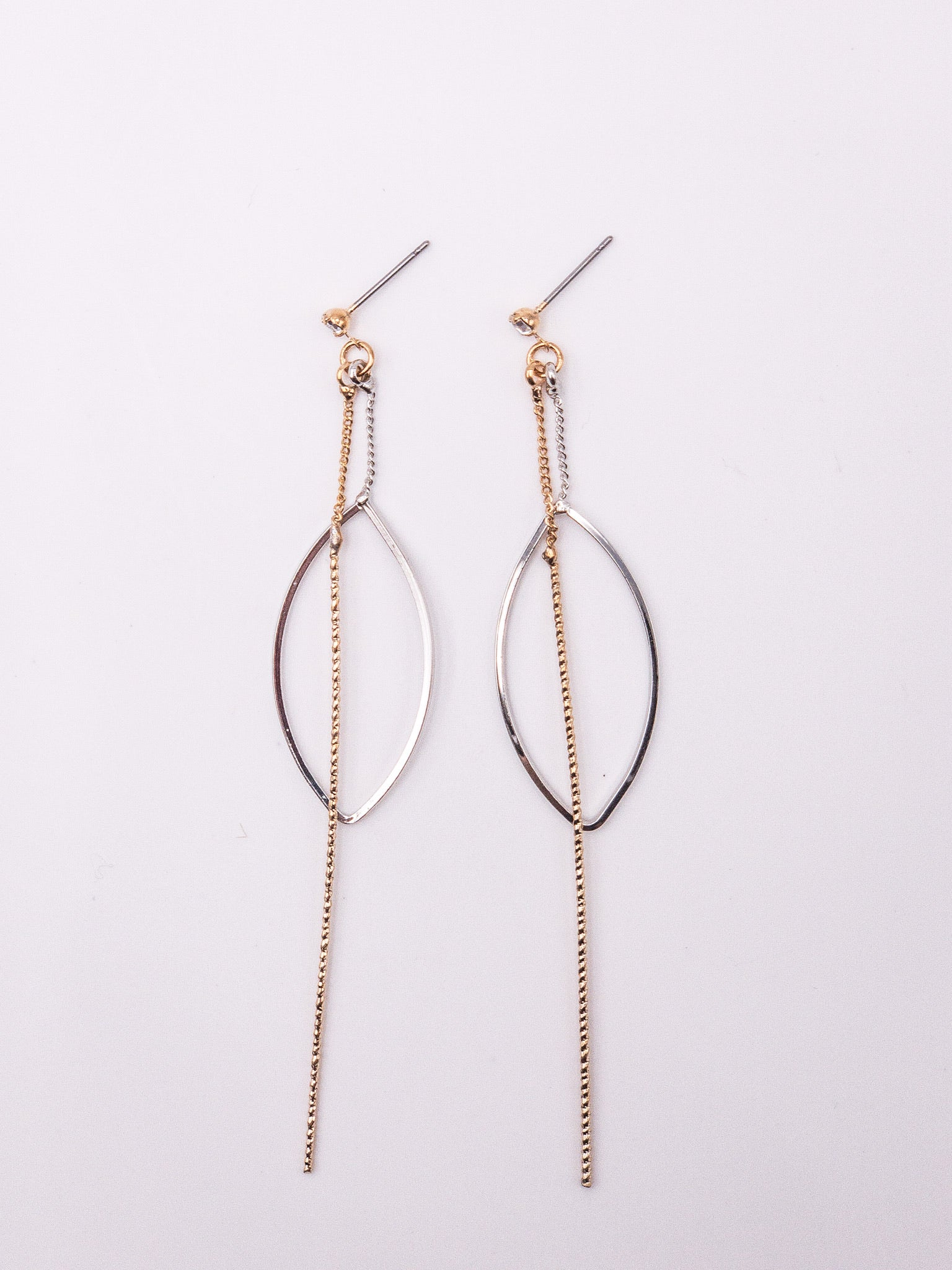 Joelle Mixed Metal Dangle Earrings