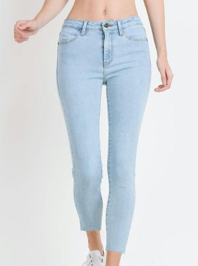 Rudy Light Wash Skinny Jeans