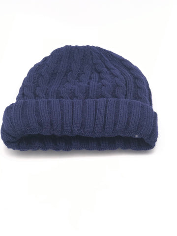 Belle sherpa Lined Hat in Midnight
