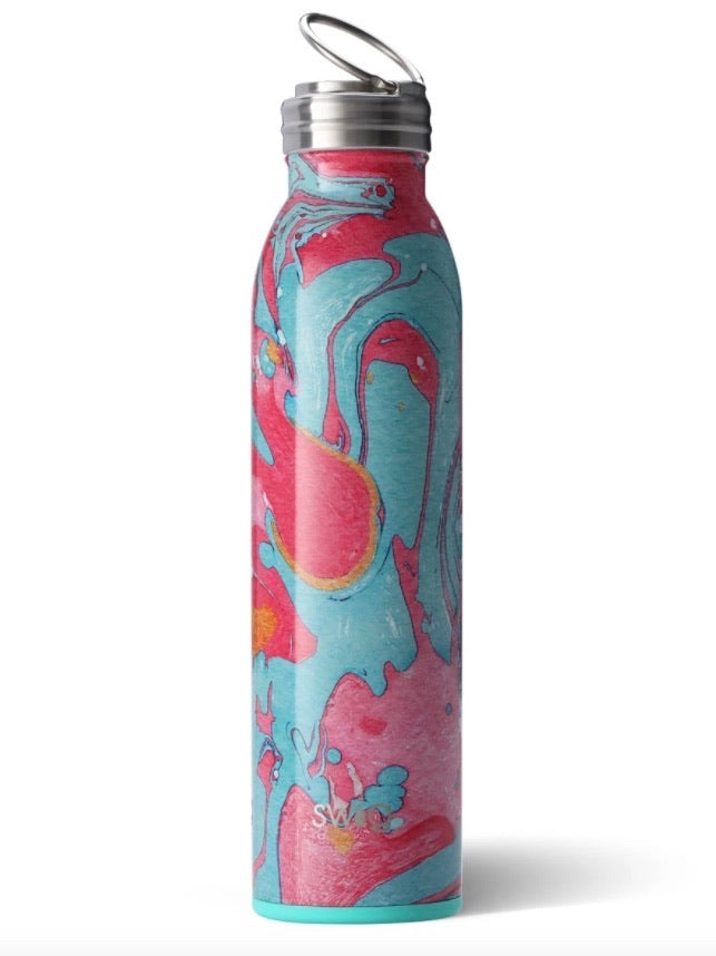 Swig Cotton Candy 20oz Water Bottle