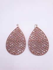 Sakura Earrings in Blush